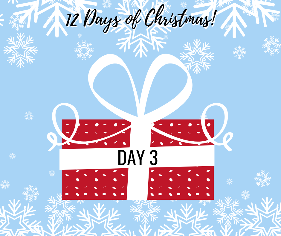 12 Days Of Christmas.12 Days Of Christmas Day 3